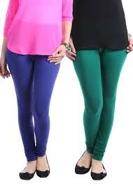 Colored Cotton Lycra Legging