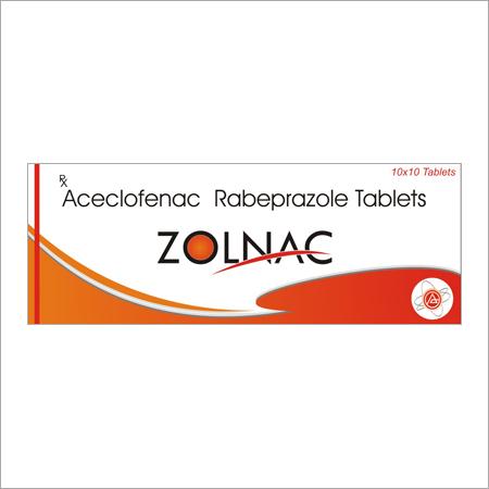 Aceclofenac Rabeprazole 100mg Tablets