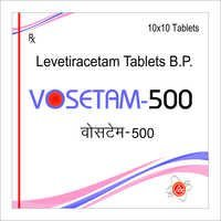 Levetiracetam 500 mg Tablets