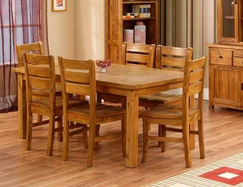 Wooden Dining Table Set & Wooden Dining Table Set - Wooden Dining Table Set Exporter ...