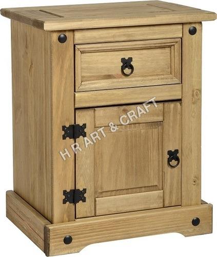 Designer Wooden Bedside Table