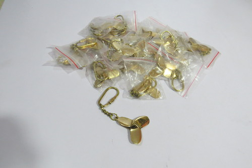 Brass Propeller Key Chain Set Of 50