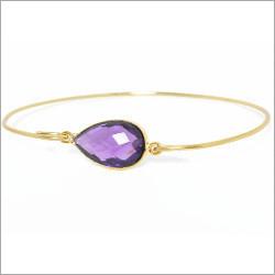 Amethyst Quartz Gemstone Bracelet