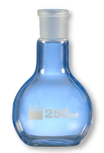 Flask Round Bottom Single Neck DIN12348 Medium