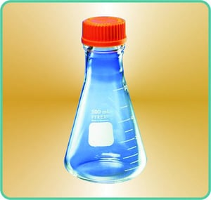 Flasks, Conical, with Ptfe Liner Screw Cap