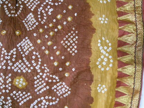 Cotton Bandhej Saree