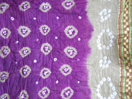 Cotton Bandhej Saree