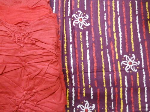 Cotton Print Suit Materials