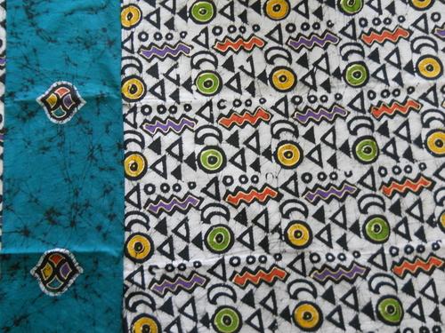Designer Batik Print Suit
