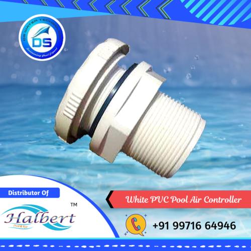 White PVC Pool Air Controller