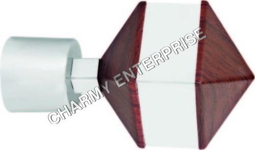 Designer Curtain Rod Brackets