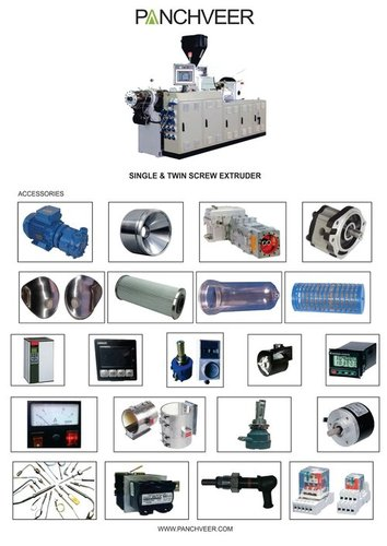 PVC & HDPE Extruder Parts