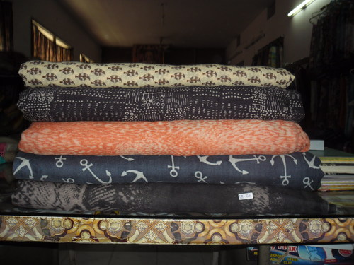 Printed Wool Fabric