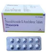 Thiocolchicoside..4 mg. + Aceclofenac..100 mg.