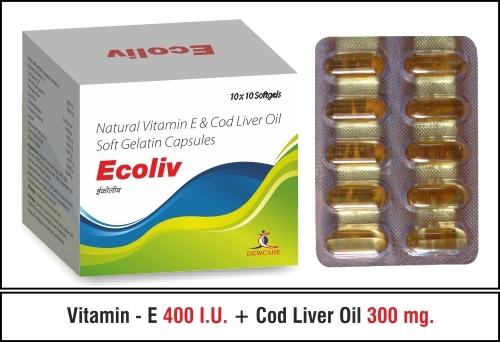 Vitamin E + Cod Liver Oil