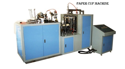 BIGGEST SALE UPTO 10%FF ON PAPER CUP FARMING MACHINE WEZ 1210 URGENTELY SALE IN ALLAHABAD U.P