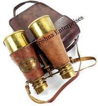 Antique Binocular With Case