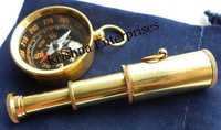 Set Of Compass & Telescope Key Chain