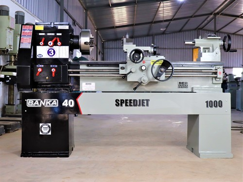 Banka 40 Speed-Jet Lathe Machine