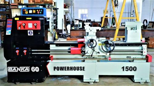 Banka 60 Power House Lathe Machine