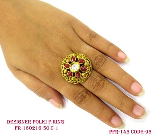 Fancy Finger Ring