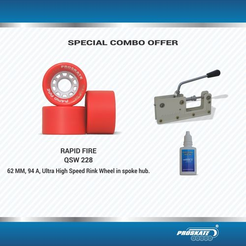 Proskate  Rapid Fire   Wheel Combo