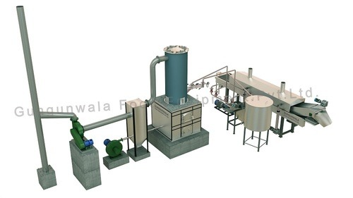 Continuous Namkeen - Dal Fryer ( Dual System )