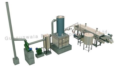 Continuous Namkeen Dal Fryer Capacity: 100/180/300/500/1000 Kg /Hrs Kg/Hr