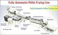 Fully Automatic Pellets Frying Line