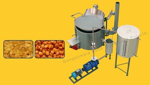 Circular Batch Fryer with Inbuilt Heat Exchanger