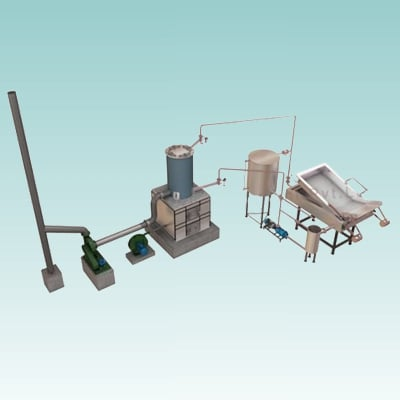 Rectangular Fryer With Wooden Heat Exchanger Capacity: 150/250/350/400 Kg /Hrs Kg/Hr