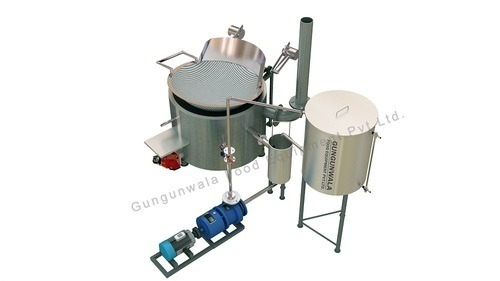 Circular Fryer Inbuilt Heat Exchanger