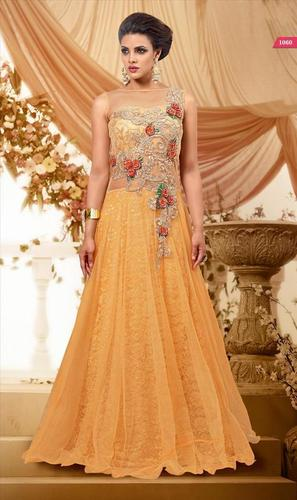 Latest Indian Yellow Gown