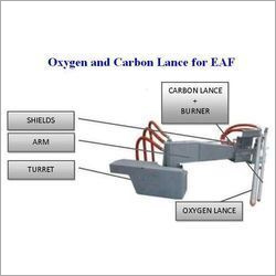 Oxygen & Carbon Lance for EAF