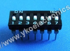 7 Way Dip Switch