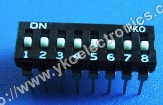 8 Way Dip Switch