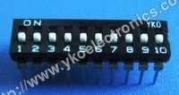 10 Way Dip Switch