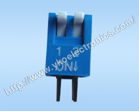 2 Way Slid Type Dip Switch