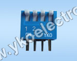4 Way Slide Type Dip Switch