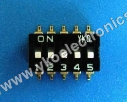 5 Way SMD Switch