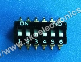 6 Way SMD Switch