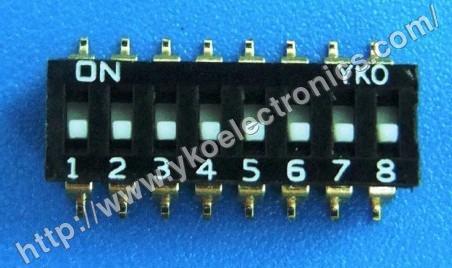 8 Way SMD Switch