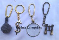 Set Of Brass Key Chains