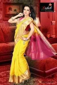 Ladies Silk Cotton Saree