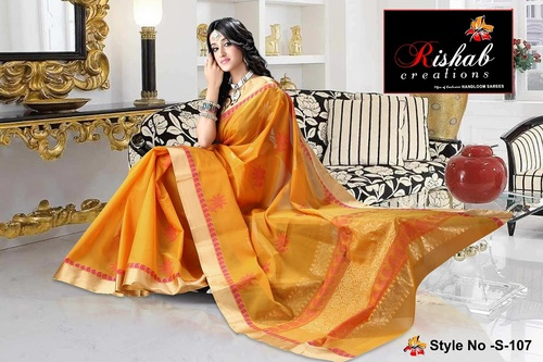 Silk Cotton Sarees- S 107