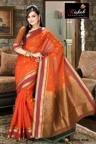 Silk Cotton Sarees- S 108