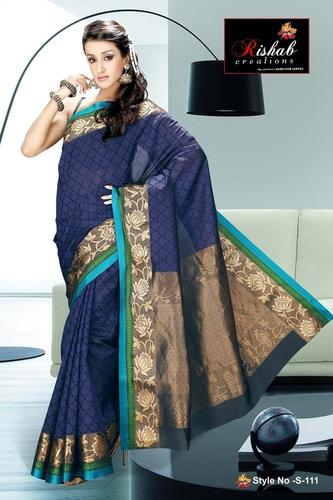 Silk Cotton Sarees- S 111