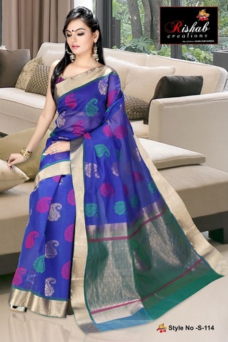 Silk Cotton Sarees- S 114