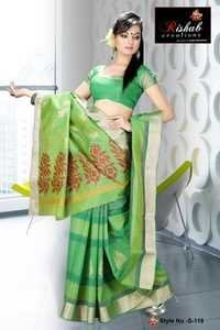 Silk Cotton Sarees- S 118