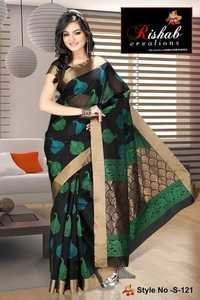 Silk Cotton Sarees- S 121